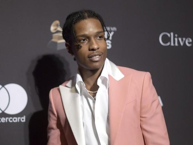 Der New Yorker Rapper Asap Rocky tritt in Schweden auf. /Invision/AP/dpa