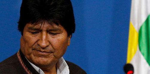 Boliviens Ex-Präsident Morales soll in Mexiko Asyl erhalten