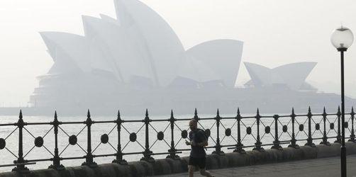 Dichter Rauch über Sydney