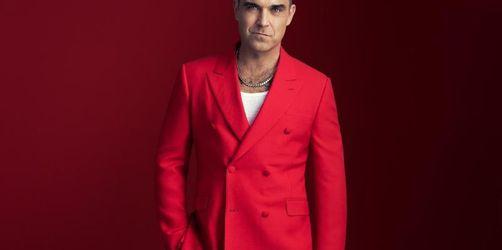 Robbie Williams stimmt auf Weihnachten ein