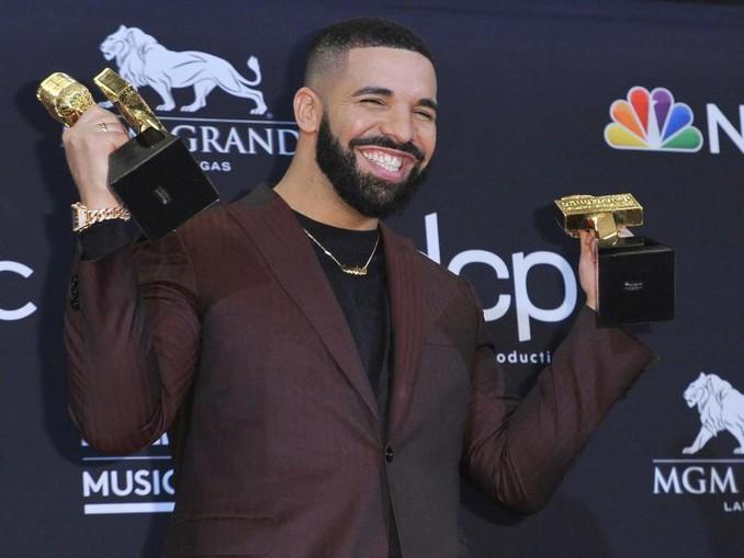 An Drake kommt keiner vorbei. /Invision/dpa