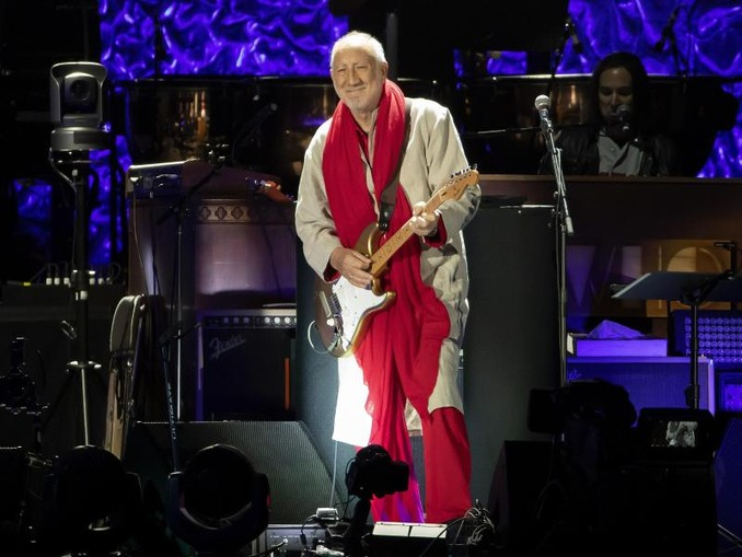 Pete Townshend:«Ich stehe nicht wirklich gern auf der Bühne.». /Invision/AP/dpa