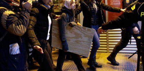 Riesen-Rummel um Greta Thunberg in Madrid