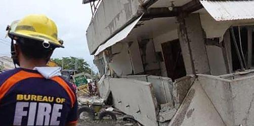 Mindestens vier Tote bei Erdbebenserie auf Philippinen