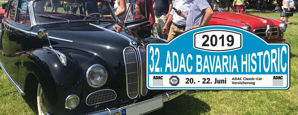 ANTENNE BAYERN präsentiert die ADAC Bavaria Historic 2018