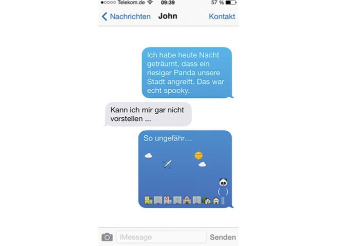 lustige emoji nachrichten