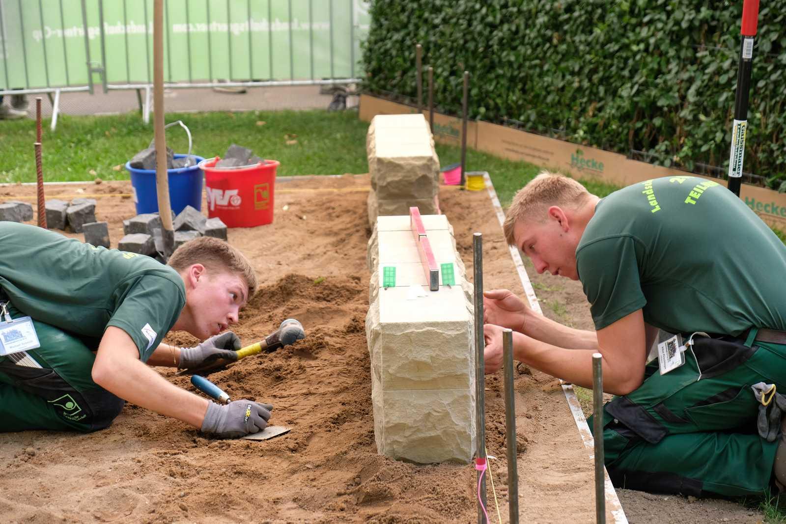 Landschaftsgärtner Cup In Nürnberg Bester Nachwuchs Kommt Aus