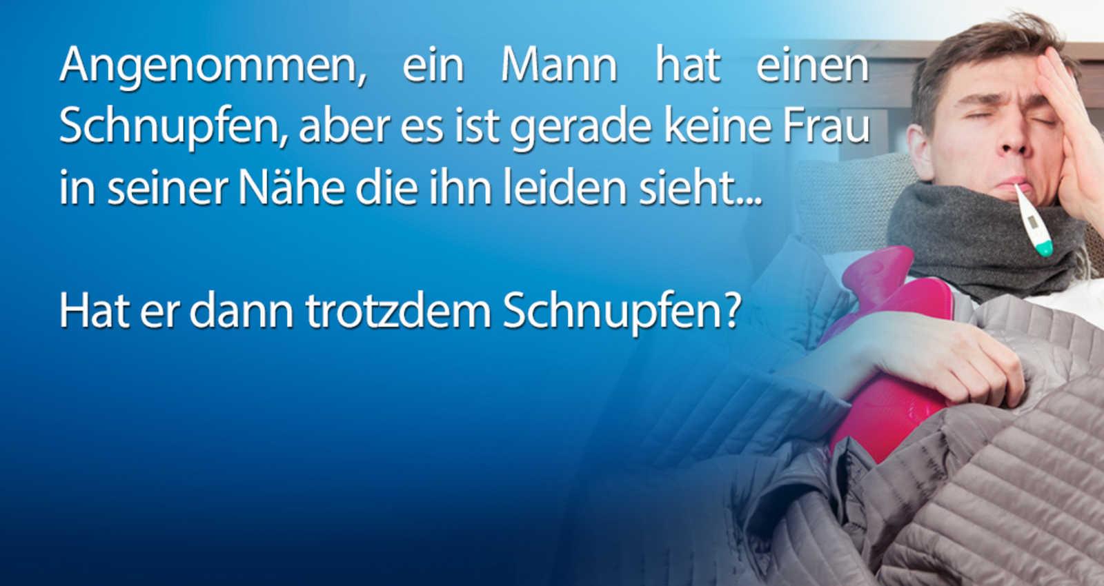 """""""Schnupfen"""""""