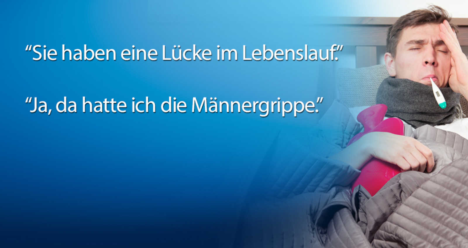 """Lücke im Lebenslauf"""