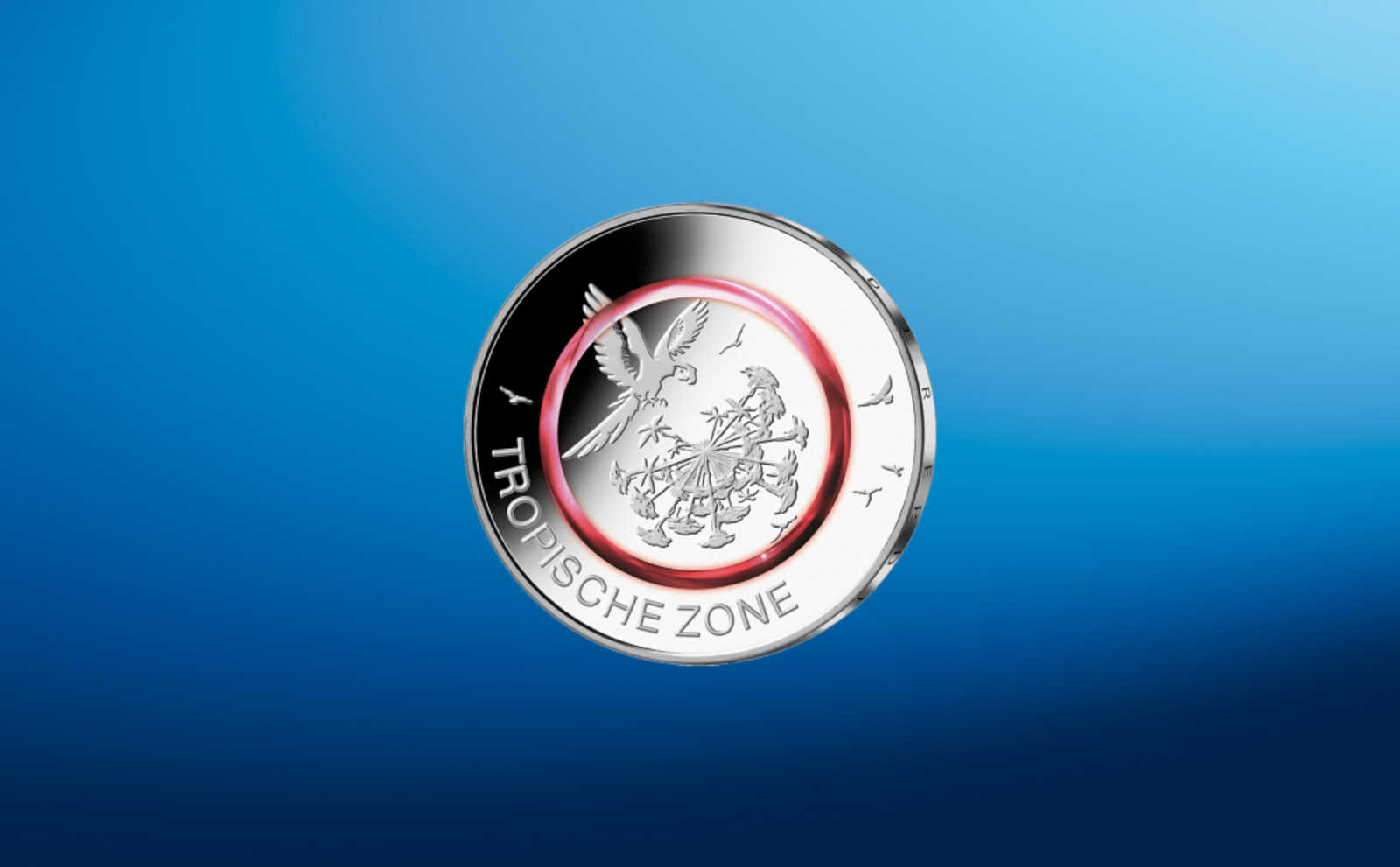 Ab Jetzt Gibt Es Die Rote 5 Euro Münze Antenne Bayern
