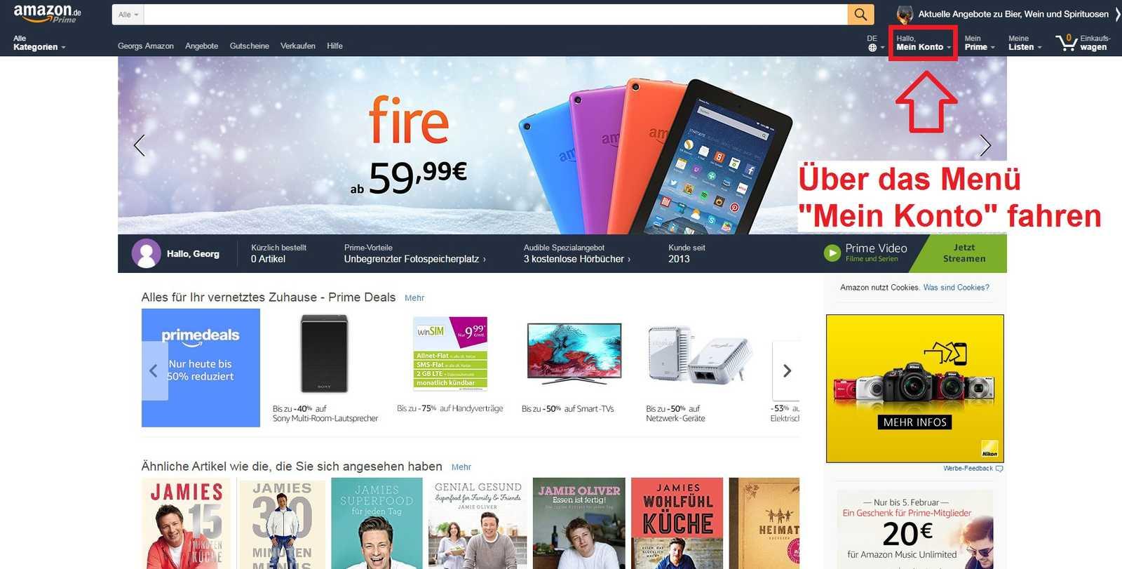 Amazon.De/Anschauen