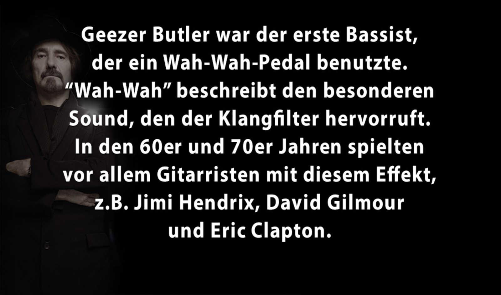 5 Facts über Geezer Butler