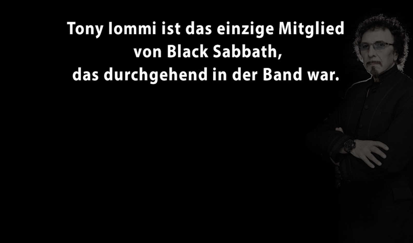 5 Facts über Tony Iommi