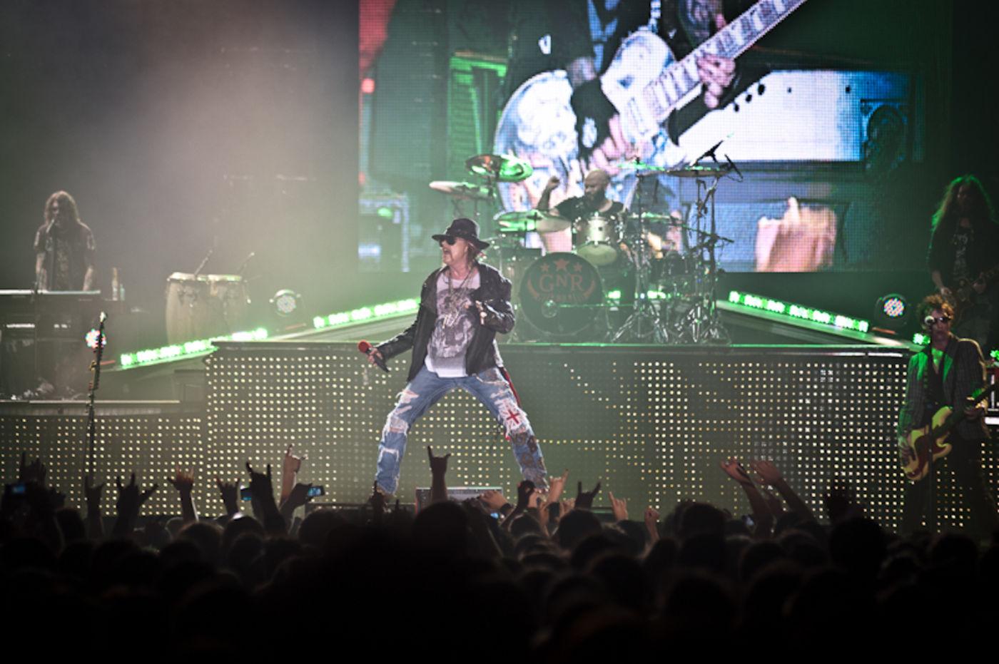 Guns N Roses Trotzen Dem Gewitter In Hannover Rock Antenne