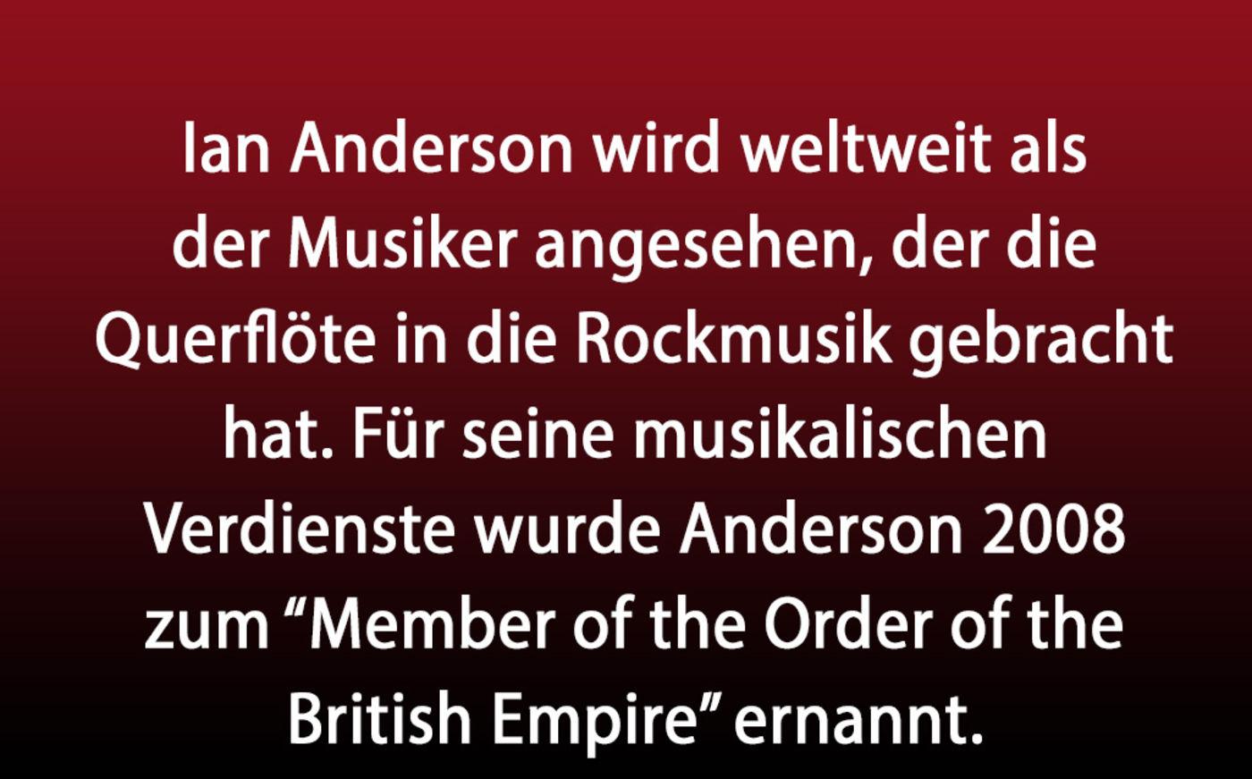 Rock The Flute Ian Anderson Von Jethro Tull Wird 71 Rock Antenne