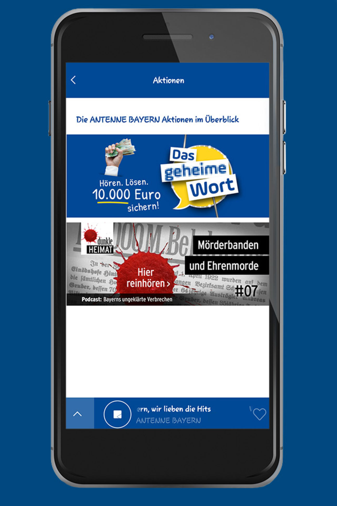antenne bayern single app Listen to antenne 1 internet radio online for free on radionet all radio streams and radio stations at one glance discover online now.