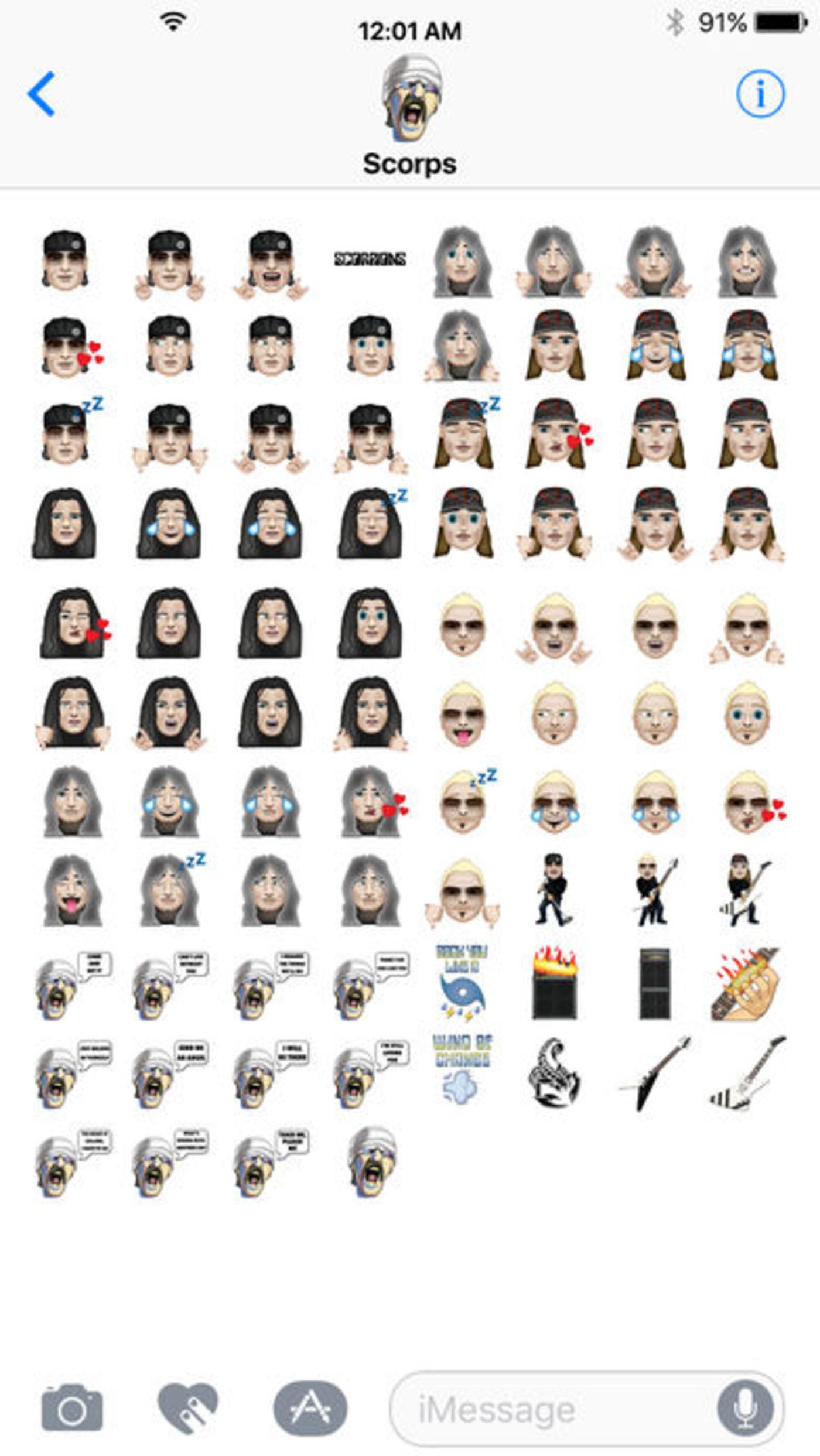 Scorpions: Mit Den Neuen Emojis Rockt Euer Handy Like A