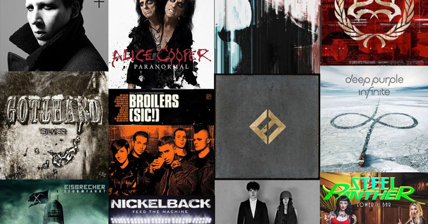 Der Jahresrockblick Die Besten Alben 2017 Rock Antenne