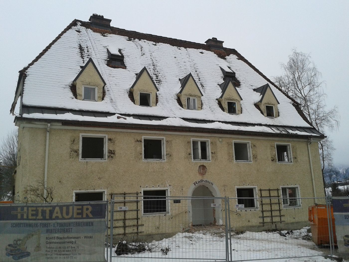 rathaus in bischofswiesen wird abgerissen neues b rgerzentrum geplant antenne bayern. Black Bedroom Furniture Sets. Home Design Ideas