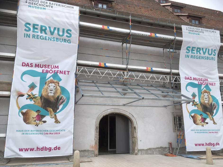 Museum der bayerischen geschichte in regensburg das depot for Depot regensburg
