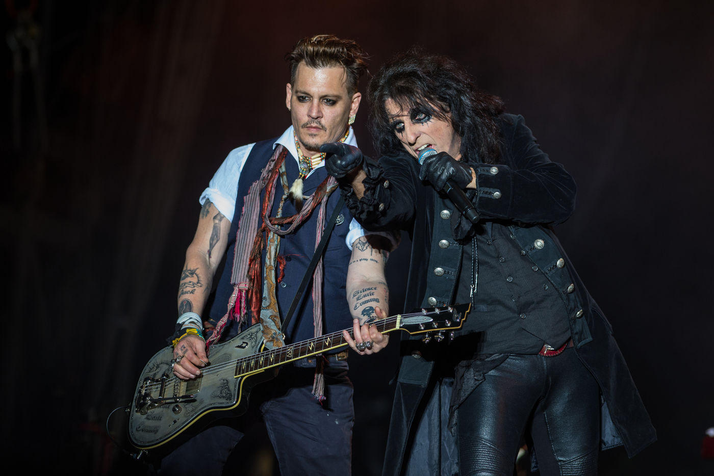 Hollywood Vampires Johnny Depp Singt David Bowie Rock Antenne