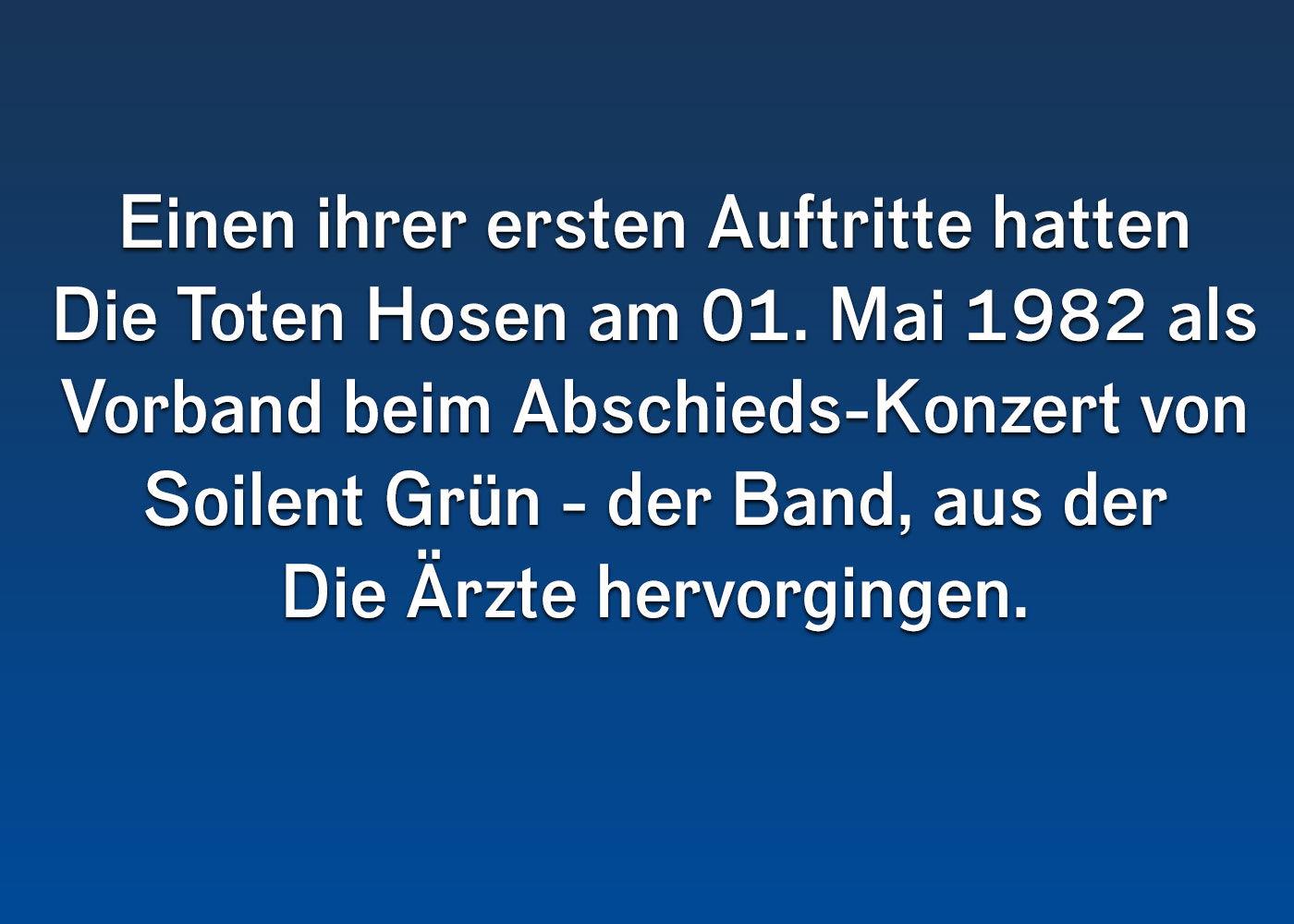 22a5e6c994b7 Die Toten Hosen: 10 Kleine Meister-Fakten   ROCK ANTENNE