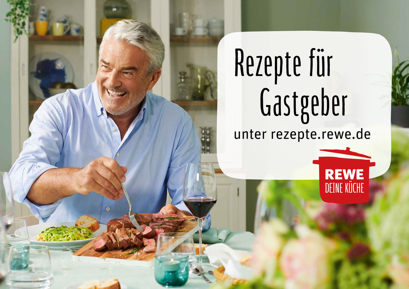 Lecker lunchen mit Lars Lorenz: Mitmachen und REWE ...