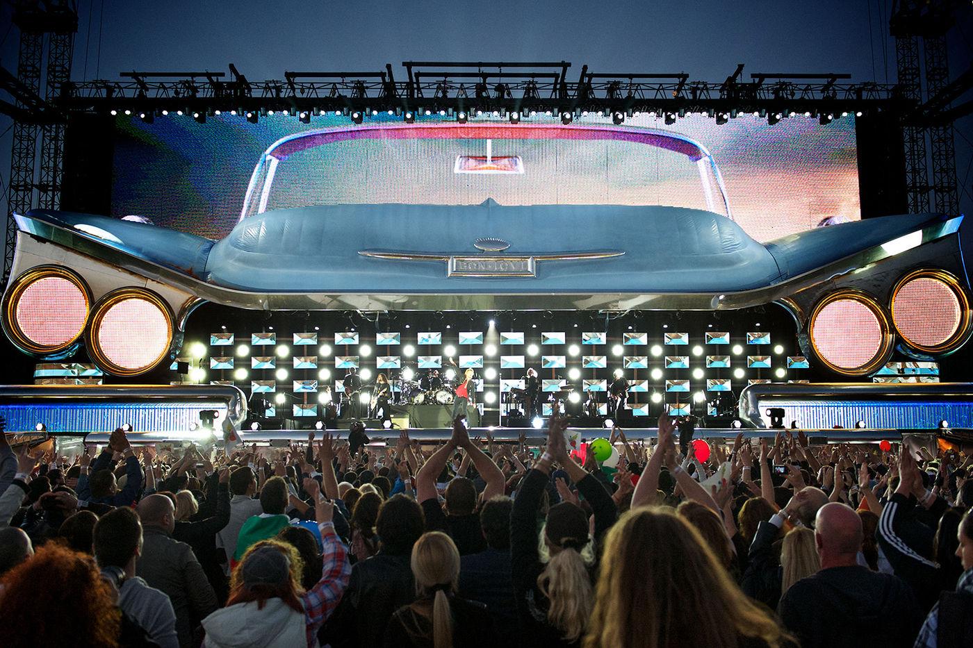 Bon Jovi Stadiontour 2019 Auch Durch Deutschland Rock Antenne