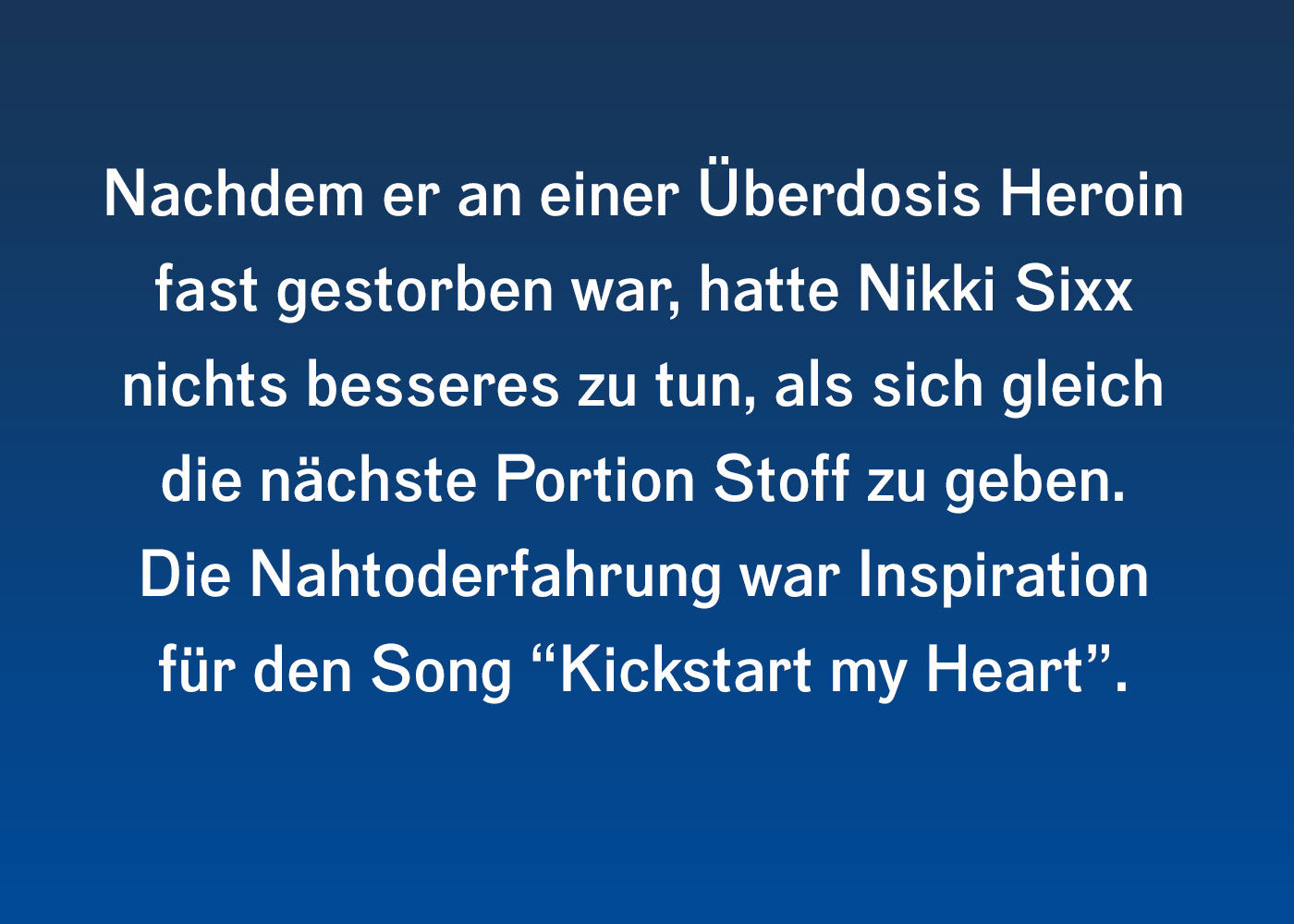 Wild Side: Sixx Geschichten von Nikki Sixx   ROCK ANTENNE ...