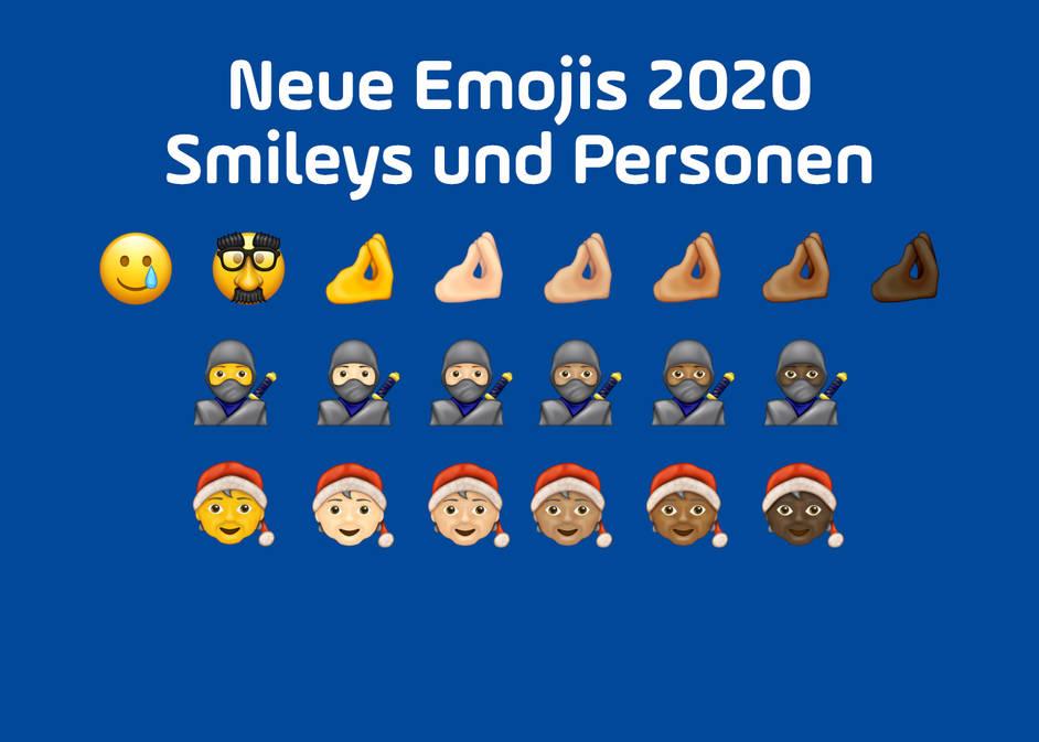 Whatsapp neue smileys bedeutung