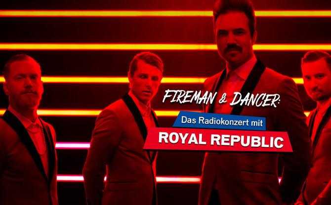 Royal Republic live im Club: Holt euch Tickets für unser exklusives ROCK ANTENNE Radiokonzert!