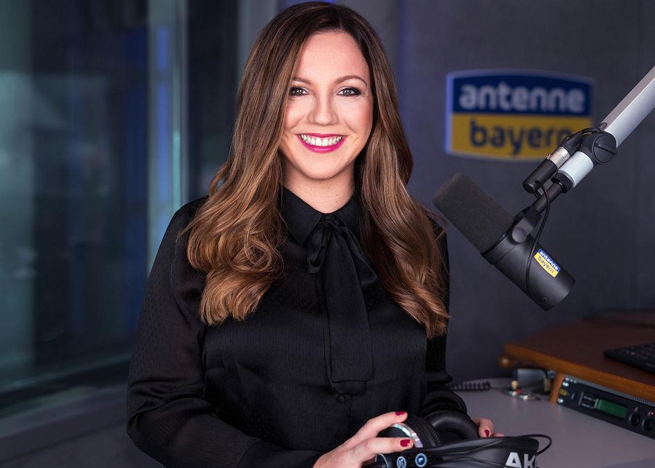 Julia Gumpp bei Antenne Bayern