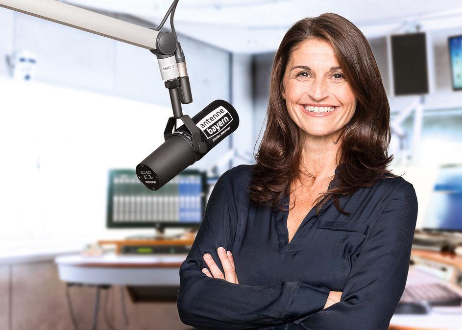Marion Schieder bei Antenne Bayern