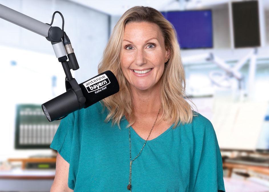 Kathie Kleff bei Antenne Bayern