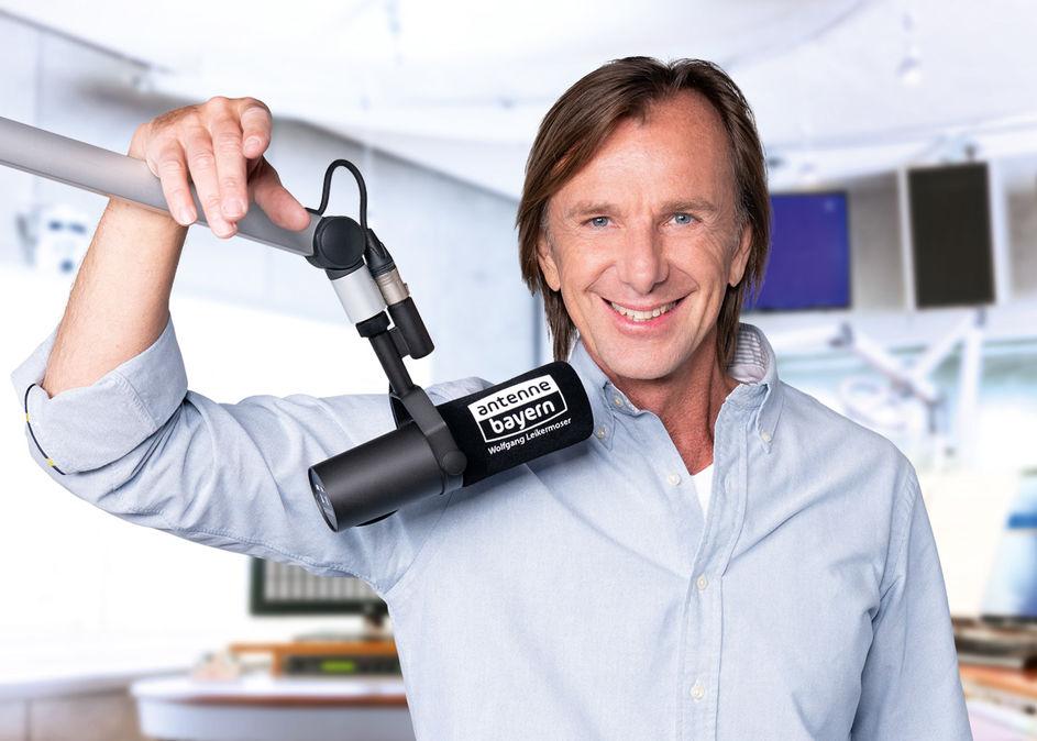 Wolfgang Leikermoser bei Antenne Bayern