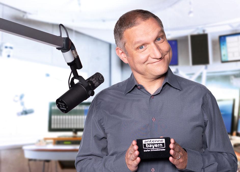 Stefan Schwabeneder bei Antenne Bayern