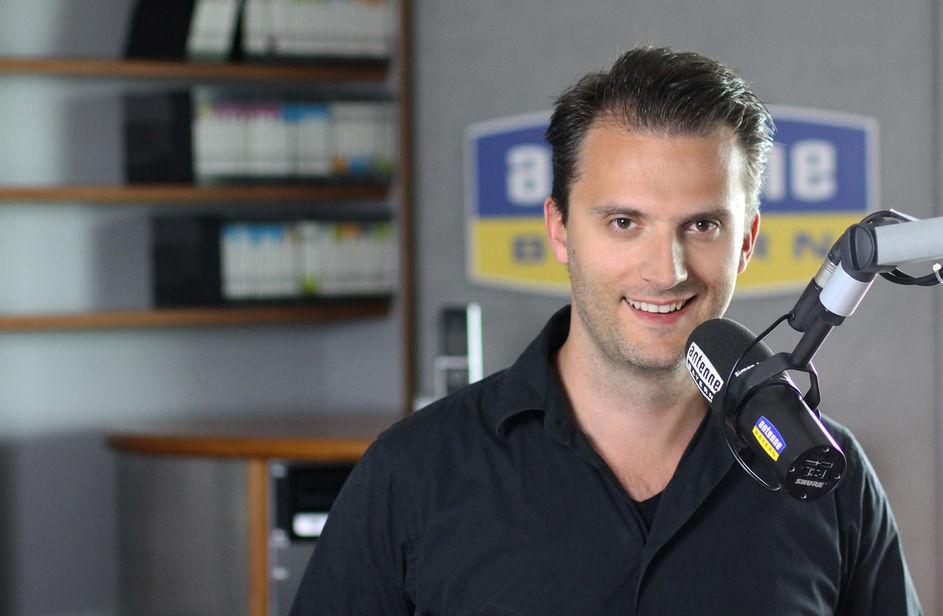 Simon Nappenbach bei Antenne Bayern