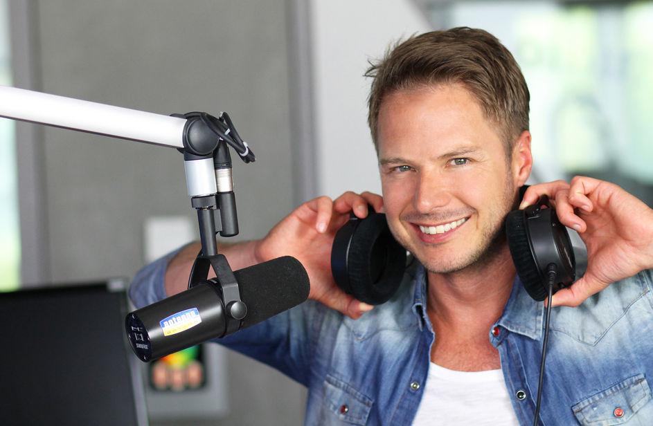 Florian Weiss bei Antenne Bayern