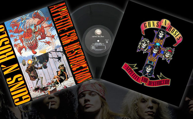 """""""Appetite For Destruction"""": Vor 31 Jahren erschien das Debüt von Guns N'Roses"""