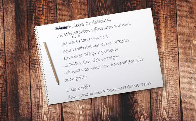 """Warten aufs """"Iron"""" Christkind: Unser Rock-Wunschzettel für 2019"""