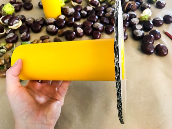 DIY: Kerzenhalter aus Kastanien