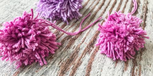 DIY: Perfekte Pompoms selber machen