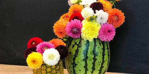 DIY: Wassermelonen-Vase