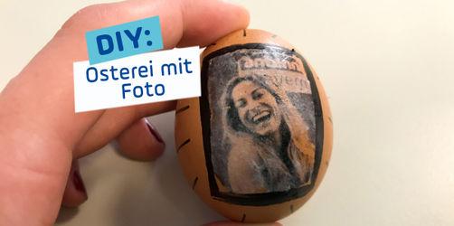 DIY: Osterei mit persönlichem Foto