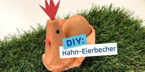 DIY zu Ostern: Hahn-Eierbecher