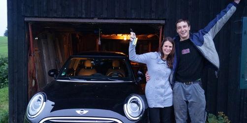 Gewinner Violetta und Bernhard aus Wertach