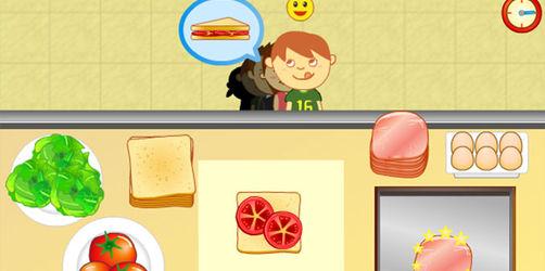 Der Sandwich-Laden