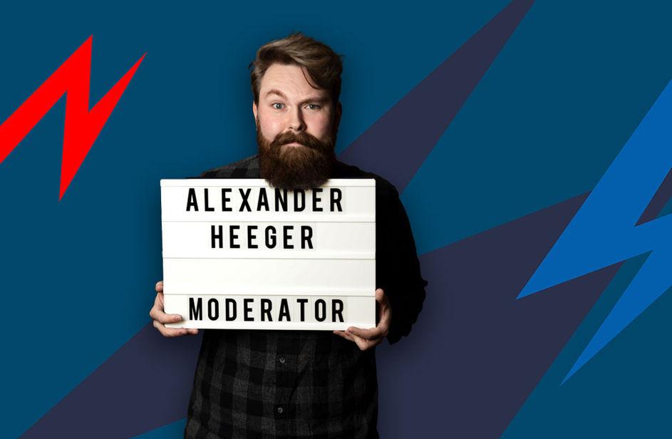 Alexander Heeger bei Antenne Bayern