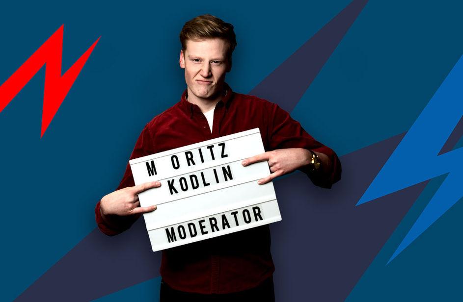 Moritz Kodlin bei Antenne Bayern