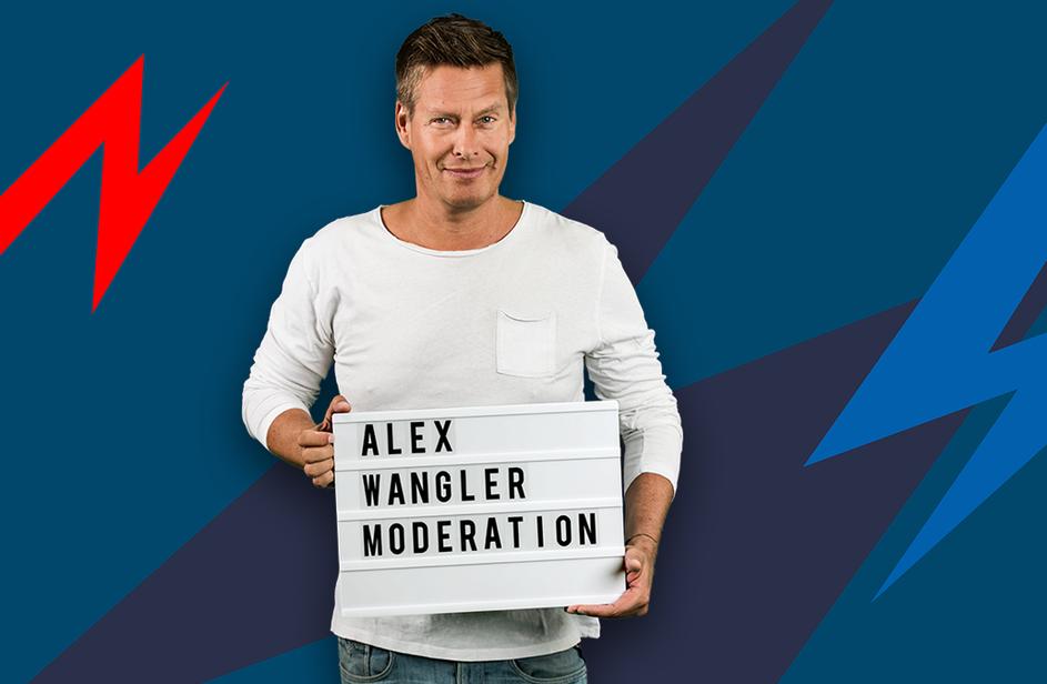 Alex Wangler bei Antenne Bayern